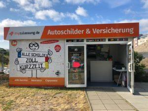 Standort in Berlin - Zulassungsbüro und KFZ Schilderservice